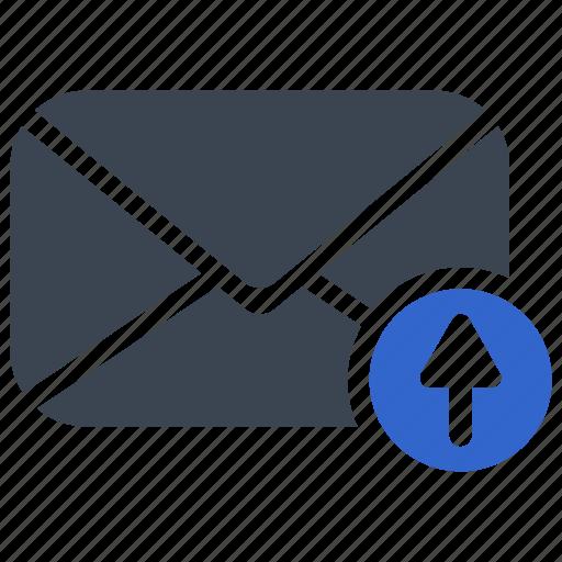 Email, mail, send, upload icon - Download on Iconfinder