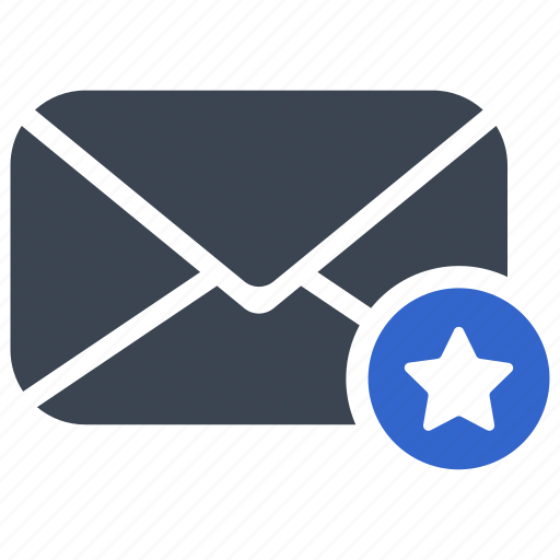 Bookmark, email, mail, star icon - Download on Iconfinder