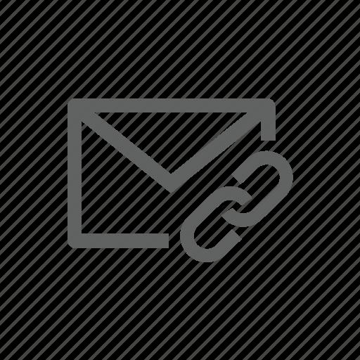 attach, attachment, clip, email, enclose, link, paper clip icon
