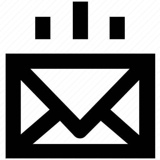 email, mail, message, sending mail icon