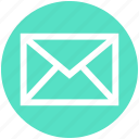 1, email, envelope, letter, mail, message icon