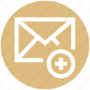 .svg, add, email, letter, mail, message, plus icon