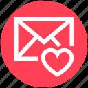 .svg, envelope, favorite, heart, letter, mail, message icon