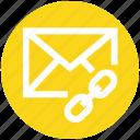 .svg, chain, envelope, letter, link, message, url icon