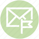 .svg, email, envelope, flag, letter, mail, message icon