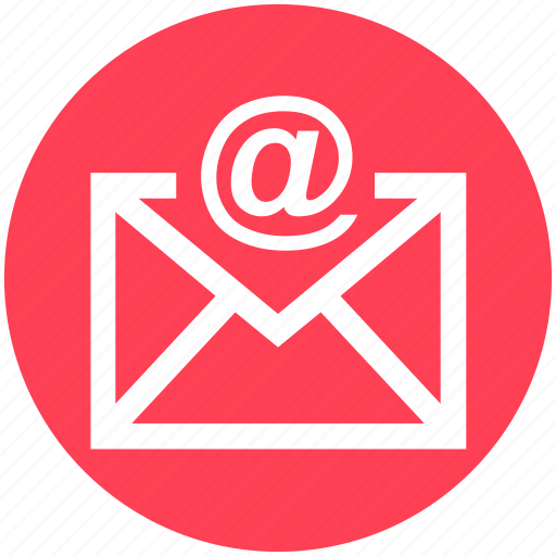 .svg, at, email, envelope, letter, message icon