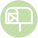 .svg, email, envelope, letter, mail post, mailbox, message icon