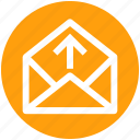 .svg, email, inbox, letter, message, open, up icon