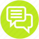 .svg, chatting, comments, conversion, message, sms, text icon