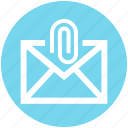 .svg, clip, email, letter, mail, message, paper clip icon