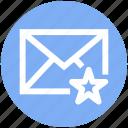 .svg, envelope, favorite, letter, mail, message, star icon