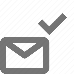 check, email, envelope, message, select icon
