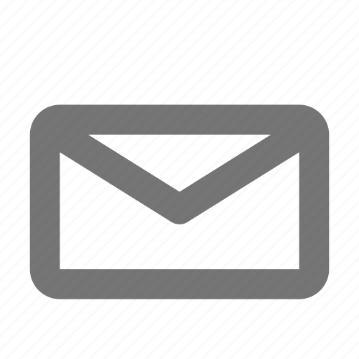 communication, email, envelope, inbox, interaction, letter, message, unread icon