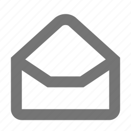 email, envelope, message, read icon
