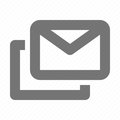 email, envelope, message icon