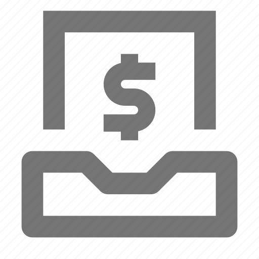 currency, dollar, email, envelope, inbox, letter, message, money icon