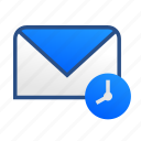 business, communication, email, gmail, mail, message, schedule icon