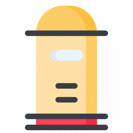communication, email, letter, mail, mailbox, post, postbox icon