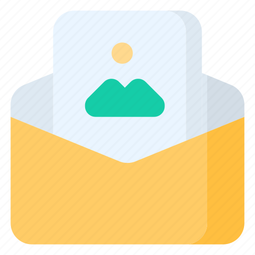 email, envelope, image, letter, mail, message icon