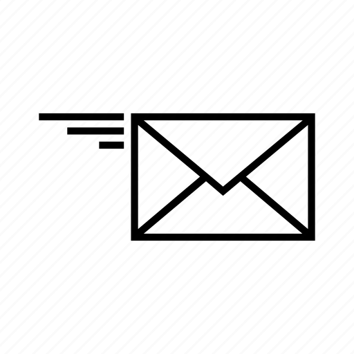 email, letter, mail, message, post, send, sent icon