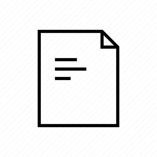 attachment, document, file, files, note, page, sheet icon