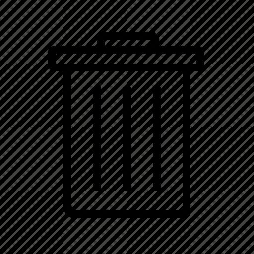 business, chart, delete, finance, recycle, remove, trash icon