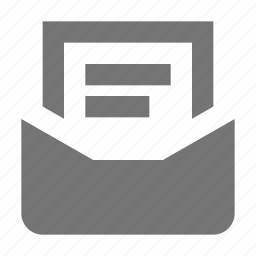 document, email, message icon