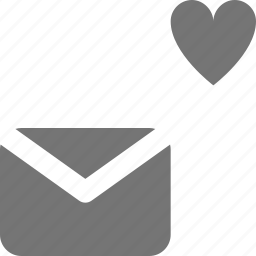 email, favorite, heart, like, message icon