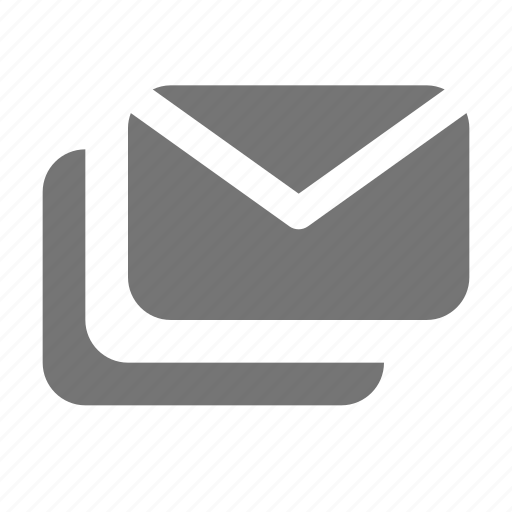 emails, envelopes, messages icon