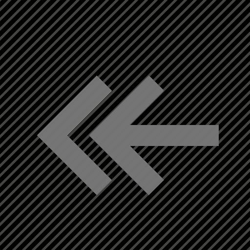 arrows, reply icon