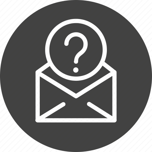 Confuse, email, help, learn, mail, question, support icon - Download on Iconfinder