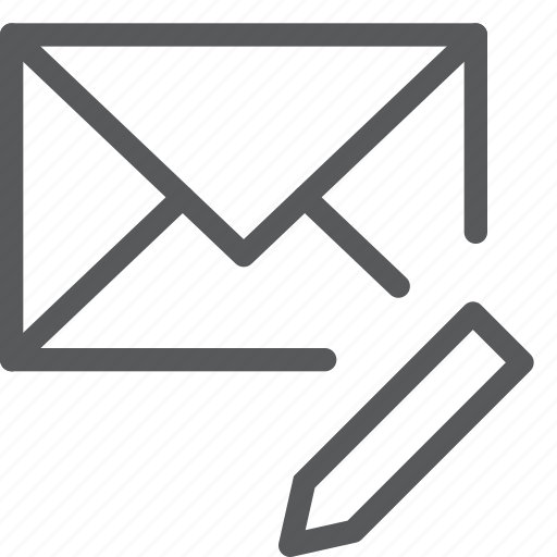 compose, email, envelope, letter, mail, message, send, write icon