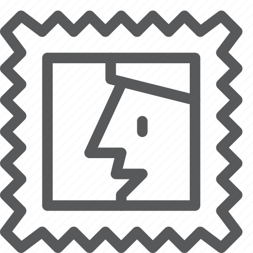 envelope, image, letter, mail, message, send, stamp icon