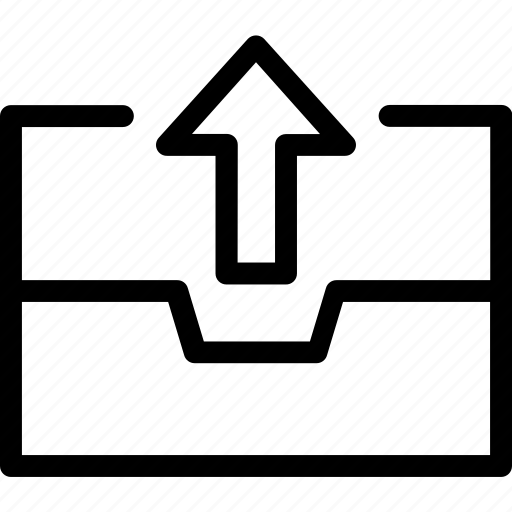 box, not, out, outbox, sent, temporary icon