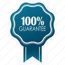 emblem, guarante, guarantee, guaranteed, hundred percent, satisfaction, warranty icon