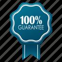 emblem, guarante, guarantee, guaranteed, hundred percent, satisfaction, warranty