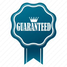 award, badge, emblem, guarantee, guaranteed, satisfaction, warranty icon