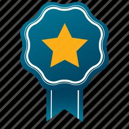 accept, approve, award, favorite, guarantee, satisfaction, star icon