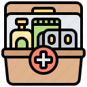 aid, emergency, first, kit, medical