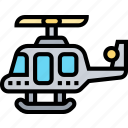 helicopter, transportation, aviation, rescue, evacuation icon