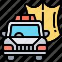 police, car, cop, security, enforcement