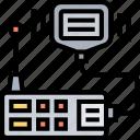 walkie, talkie, communication, radio, transceiver