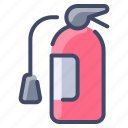 emergency, extinguisher, fire, safety, security