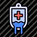 blood, bag, transfusion
