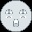 emoji, emotion, emotional, face, shy icon