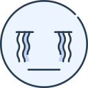 cry, emoji, emotion, emotional, face icon