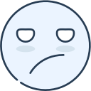 boring, emoji, emotion, emotional, face icon