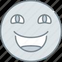 emoji, emotion, emotional, face, happy icon