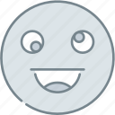 emoji, emotion, emotional, face, funny icon