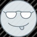 emoji, emotion, emotional, face, smile icon